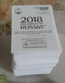 Lote 10 Figurinhas Copa Do Mundo Russia 2018