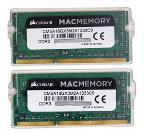 Memoria Corsair 16gb (2x8gb) 1333 Apple iMac Macbook Mac Pro
