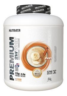 Premium Whey 2kg Concentrado Hidrolisado - Nutrata - Sabores