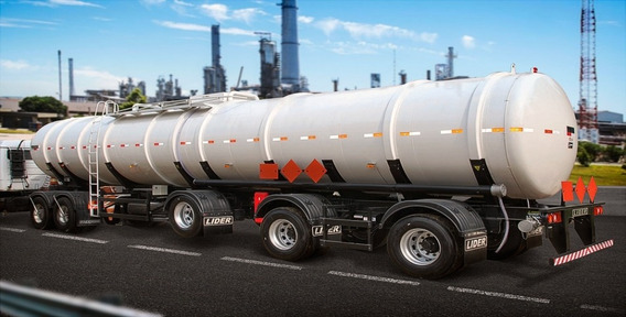 Carreta Tanque Aço Carbono