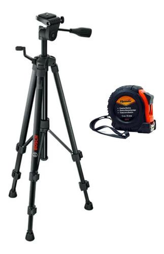Imagem 1 de 6 de Tripe Profissional Bt150 Bosch Para Nível Laser + Acessório