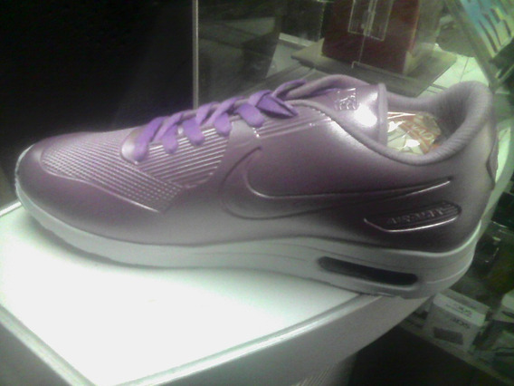 Zapatos Dama Nike Airmax Satin Lila Talla 39 Envios