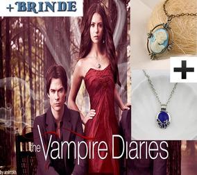 Colares Katherine Pierce Camafeu Vampire Diaries Damon