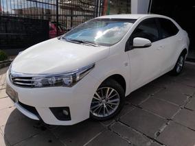 Toyota Corolla Xei Aut 2.0 2015 Branco Flex