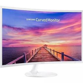 Monitor Led 32 Samsung Lc32f391fdlxzd Full Hd Curvo Branco