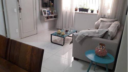 Apartamento Garden Com 3 Quartos, 96 M² Por R$ 550.000 - Icaraí - Niterói/rj - Gd0012