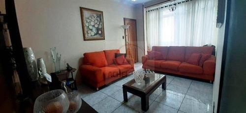 Imagem 1 de 17 de Apartamento Com 2 Dormitórios À Venda, 90 M² Por R$ 380.000,00 - Gonzaga - Santos/sp - Ap10043