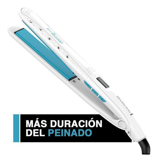 Plancha Remington Wet 2 Straight Sales De Mar, Blanco S7300