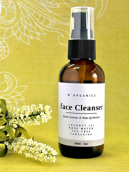 Limpiador Facial Bifásico Orgánico