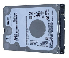 Hd Notebook 500gb Western Slim 7mm 5400 Rpm