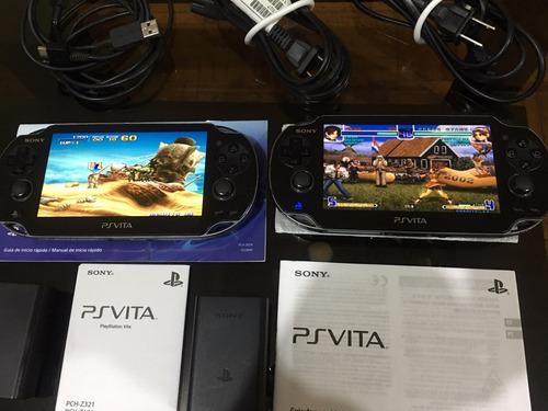 Psvita Slim Y Normal Psp Vita Con Full Juegos Quito Y Envios