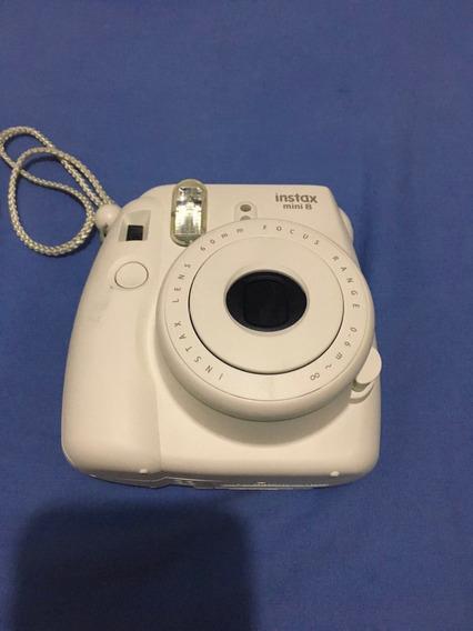 Camêra Instax Mini 8 Fujifilm (branca)