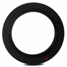 Anel Adaptador Reverso Para Lentes Nikon Rr-ai 58mm Macro
