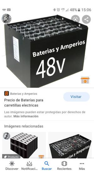 Compro Batería De Autoelevador 48 V 700 Ah