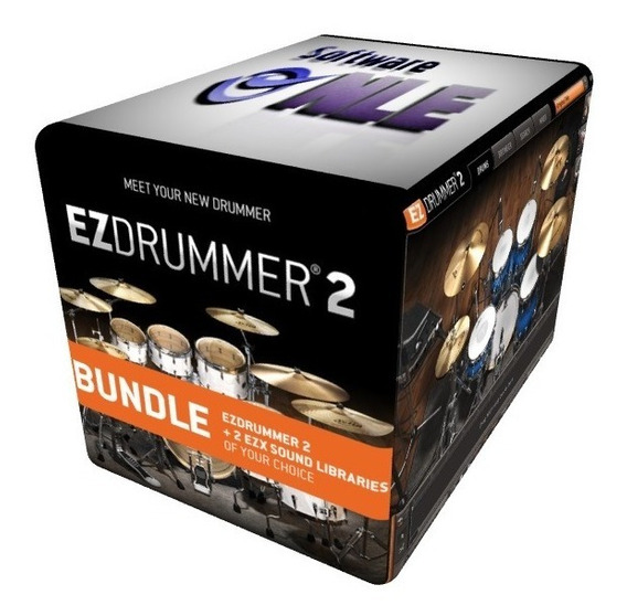 Ezdrummer 2 Para Windows + 21 Librerias Formato Digital