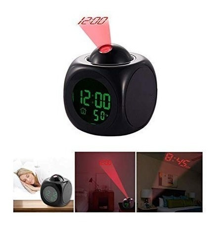 Reloj Despertador Proyector Led.