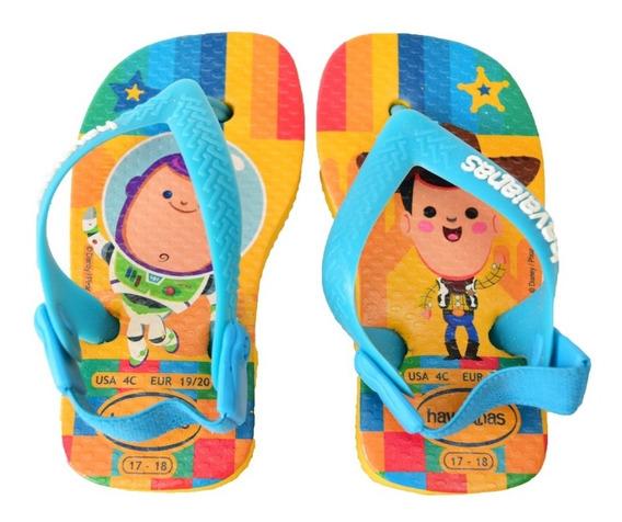 Ojotas Havaianas Baby Pixar Toy Story