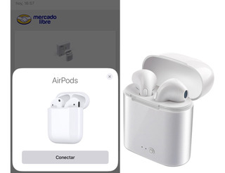 Audífonos Manos Libres Tipo AirPods I7s Bluetooth 5.0 Pop Up