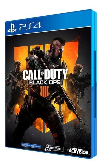 Call Of Duty: Black Ops 4 - Ps4 / Mídia Física / Lacrado