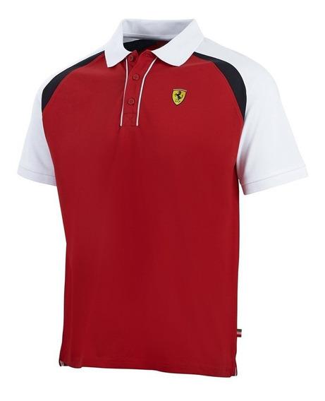 Polo Ferrari Bicolor Race (hombre)