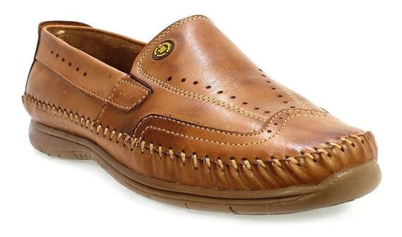 Sapato Masculino Mocassim Marrom Belloboy