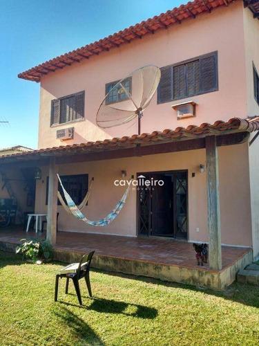 Casa Residencial À Venda, Ponta Grossa, Maricá - Ca2120. - Ca2120