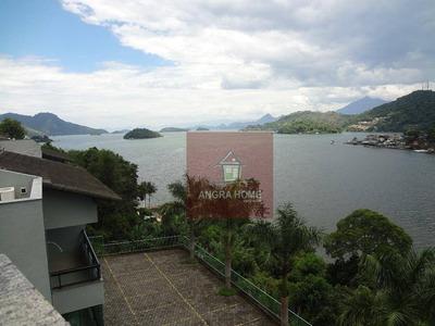 Cobertura Residencial Para Venda E Locação, Com Pier De Atracação, Angra Dos Reis - At0004. - Co0014