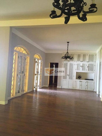Casa Com 6 Dormitórios Para Alugar, 555 M² Por R$ 13.000,00/mês - Parque Taquaral - Campinas/sp - Ca2694