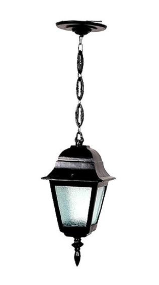 Luminária Externa E Interna Canadá Com Corrente Em Alumínio