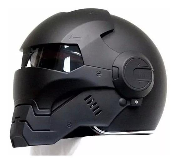 Capacete De Motocicleta Máscara Robocop Importado Original !