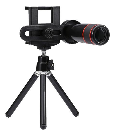Magideal Universal 12x Zoom Telefone Telescópio Telefoto Câm