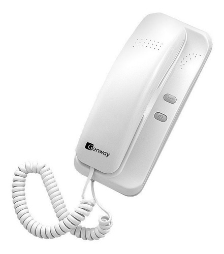 Imagen 1 de 6 de Telefono Citofono Digital Genway Modelo Wl-02nlfd
