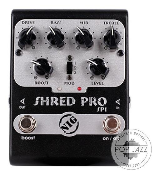 Pedal Nig Shred Pro Sp1 / Novo / Original / Nota Fiscal