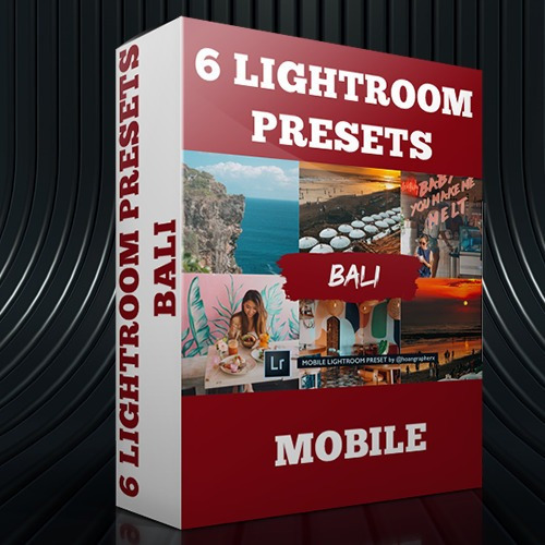 Lightroom Preset Profissional 6 Presets - Bali