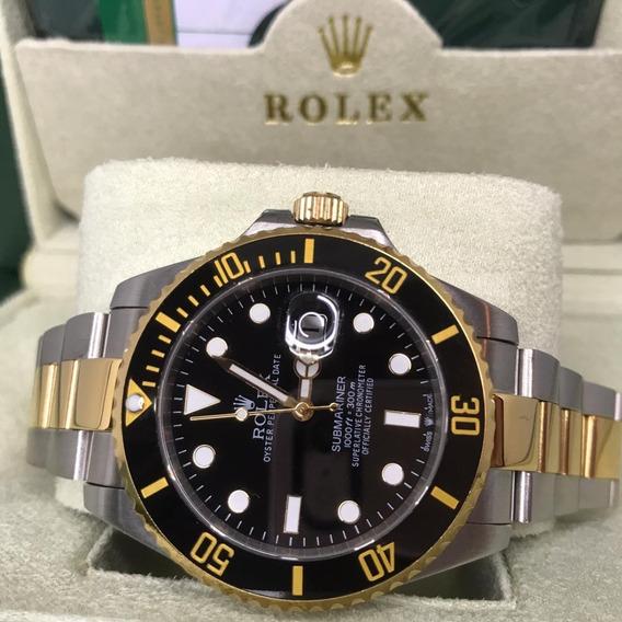 Relógio Acab. Eta - Modelo Submariner + Caixa Verde
