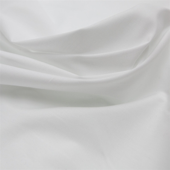 Tecido Tricoline Com Elastano Branco
