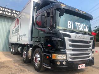 Scania P310 Ano 2013 Bau Refrigerado T 800 18 Pallets Top !!