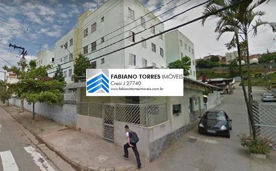 Apartamento Para Venda Em Santo André, São Jorge, 2 Dormitórios, 1 Banheiro, 1 Vaga - Esp Atual_2-895814