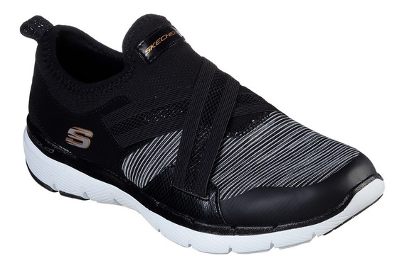 Zapatillas Skechers Flex Appeal 3 Rapid Windfall Mujer Gym
