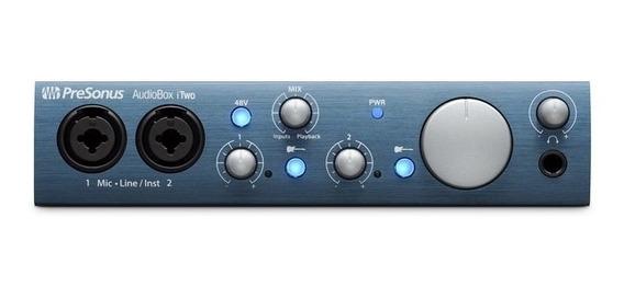 Interface De Audio Presonus Audiobox Itwo