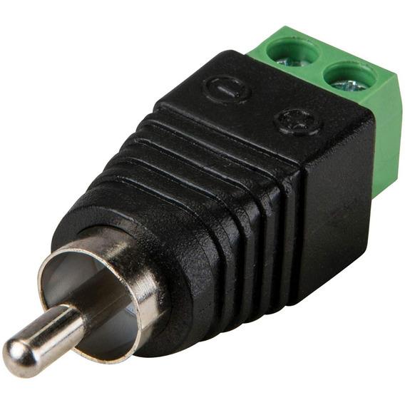 Conector Adaptador Bornera Rca Macho Hembra Cable Utp Vsa