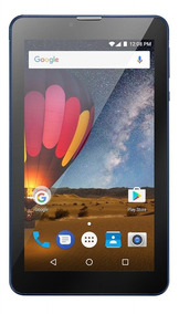 Tablet 3g Multilaser M7 Nb270 Lcd 7 8gb Quadcore Azul