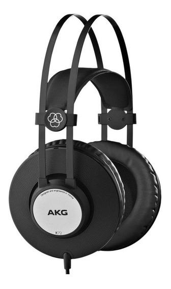 Fone Ouvido Akg K72 Studio Dj Melhor Que Akg K52