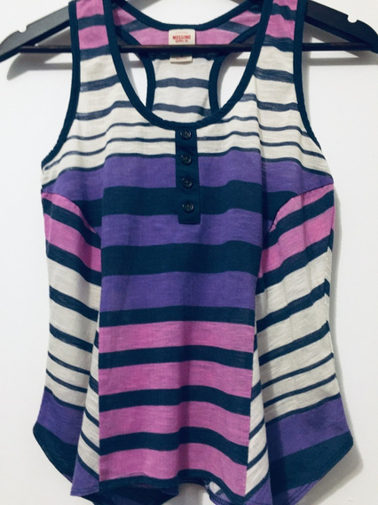 Remera Musculosa Mossimo Supply Co Mujer Talle S 36-38
