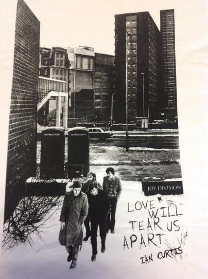 Joy Division - Camisa Love Will Tears Us Apart Prod.oficial