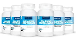Combo 6 Colágeno Hidrolisado 120 Cápsulas Newnutrition