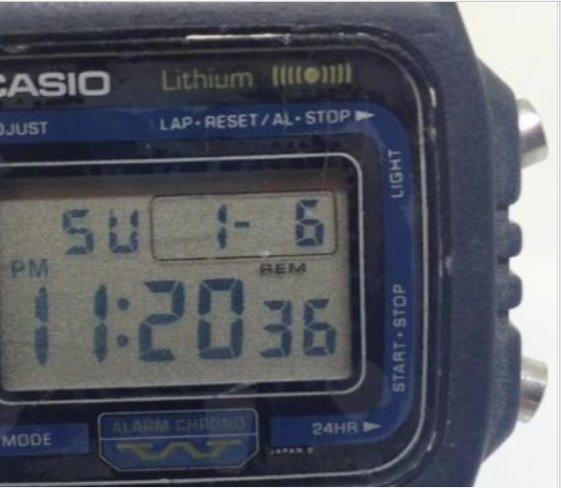 Relógio Casio Anos 80 Dw-270 Masculino T07359 Webclock