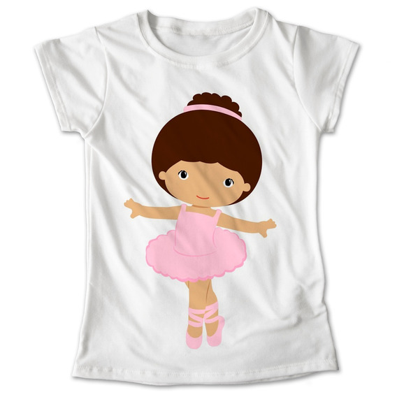 Blusa Ballet Baile Colores Playera Bailarina Rosa #170