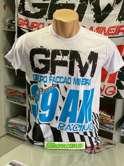 Camiseta Gfm Tipo Bandeira Azul