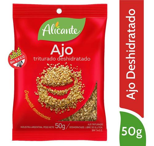 Alicante Ajo Triturado Deshidratado X 50 Gr